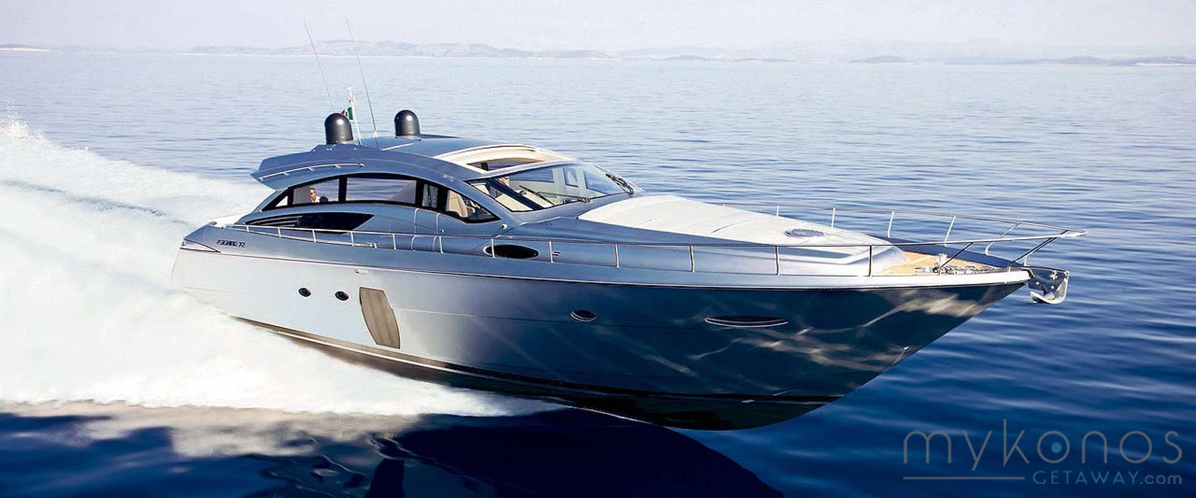 Mykonos Charter A Luxury Speed Boat Private Cruise Greek Islands
